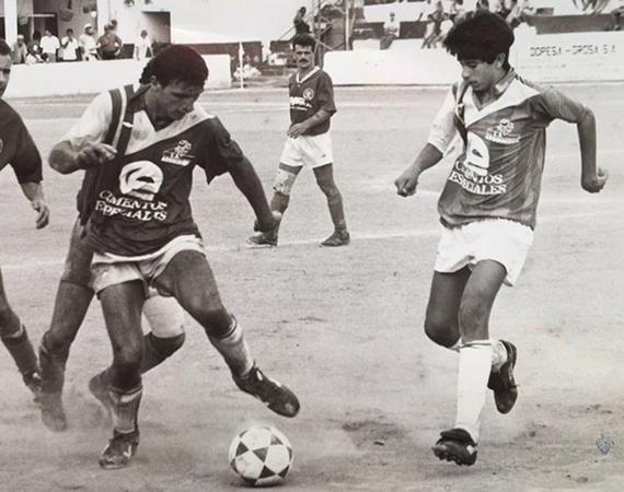 JuanCarlosValerón_CDArguineguín1992