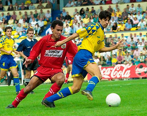 JuanCarlosValerón_UDLasPalmas1995